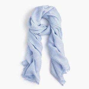 J.Crew Cotton Linen Scarf/Wrap
